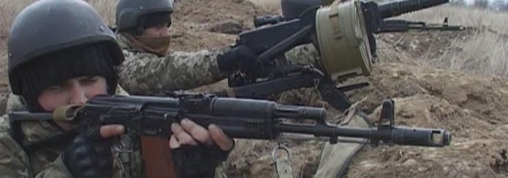 В Измаильском пограничном отряде прошли трехдневные тактико-специальные учения с боевой стрельбой