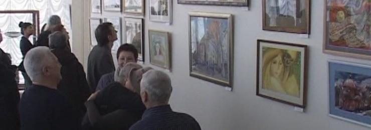 В Измаильской картинной галерее состоялось открытие уникальной Всеукраинской международной выставки «Море акварели»