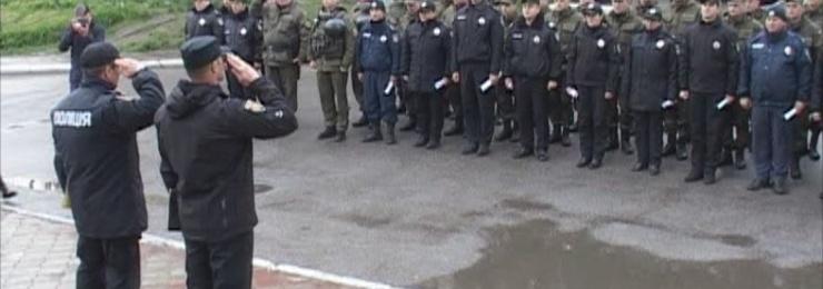 7 апреля в город Измаил прибыли военнослужащие Национальной гвардии Украины