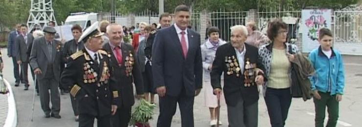 9 мая Измаил отметил 72-ю годовщину Победы над нацизмом во Второй мировой войне