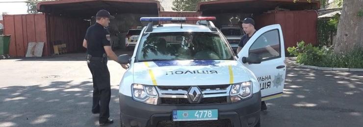 Знімальна група Ізмаїльського телебачення разом зі 102 екіпажем Національної патрульної поліції здійснила патрулювання вулицями Ізмаїла