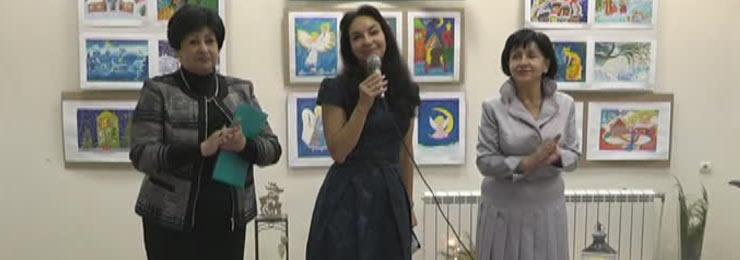 19 декабря в Измаильской картинной галерее состоялось открытие выставки детского творчества «Зимние фантазии»