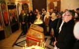 Крещенское богослужение в храме Святой Татьяны