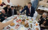 В Одесской Юракадемии прошел праздничный концерт для ветеранов