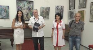 20 липня в Ізмаїльській картинній галереї відбулося відкриття персональної виствки Бориса Геннадійовича Бєлова