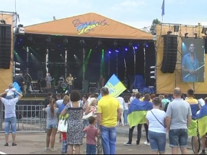 """28-30 июля в Измаиле прошёл Международный рок-фестиваль """"Дунайська Січ"""