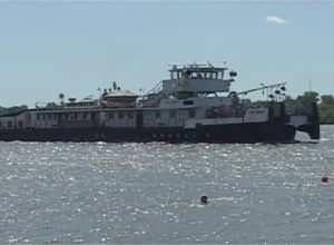 пройшов рік з моменту спуска на воду реконструйованого та перейменованого теплоходу  Українського дунайського пароплавства «Ігор Момот»