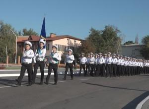 Посвящение первокурсников Дунайского института Национального университета «Одесская морская академия» в курсанты