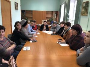Начальник Измаильского управления фискальной службы встретилась с представителями бизнеса