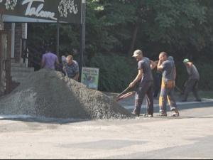 В Измаиле продолжаются ремонтые работы