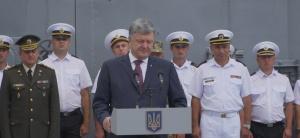Президент України Петро Порошенко відвідав багатонаціональні військові навчання «Сі-Бриз 2018»