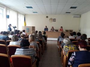На  семинаре в Измаильской ОГНИ рассказывали о трудовом законодательстве, и не только