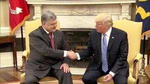 У Вашингтоне Порошенко и Трамп проводять встречу