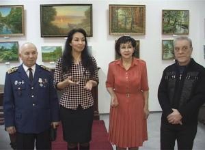 В залах Измаильской картинной галереи открылась выставка членов Союза художников Измаила Сергея Сухинина и Бориса Мельникова