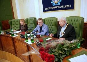 Заседание специализированного Учёного совета НУ «ОЮА»
